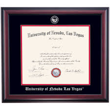 unlv school color traditional for law or doctorate diploma frame  unlv school color traditional for law or doctorate diploma frame