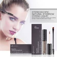 natural makeup brown eyes ping pudaier professional eye brow tattoo brand cosmetics long lasting