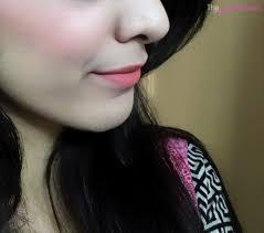 fotd using makeup revolution ultra blush palette in sugar e