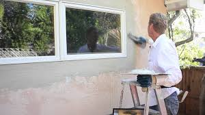 Repair Bad Patch Stucco Wall Finish YouTube - Exterior stucco finishes