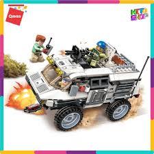 FLASH SALE] Bộ Đồ Chơi Xếp Hình Thông Minh Lego Qman Tập Kích Xe Bọc Thép  3204 Cho Trẻ giảm chỉ còn 203,000 đ