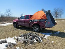 Rightline Truck Bed Tent - Waterproof - Sleeps 2 - For 6.5' Standard ...
