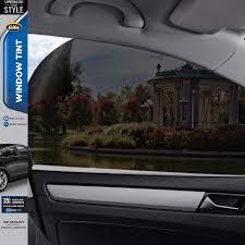 Car Window Tint Film Kit 35 Light Smoke Gila Basic 35 Vlt Automotive Window Tint Diy Glare Control Uv Blocking 2ft X 6 5ft 24in X 78in