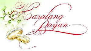 Image result for Kasalang Bayan