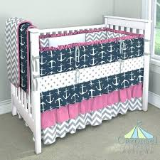 fashionable girls nautical bedding pink baby