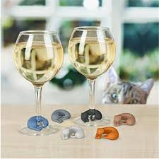 image of popular cat wine glasses