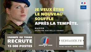 """Résultat de recherche d'images pour """"armée de terre recrute"""""""