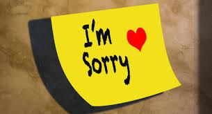 SORRY Poem Chetan Autism SIBS Universe Nonprofit AUTISM Center Awesome Sorry