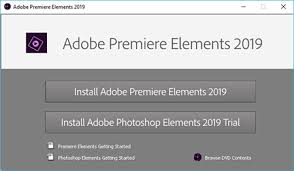 Adobe Premiere Elements のダウンロードとインストール
