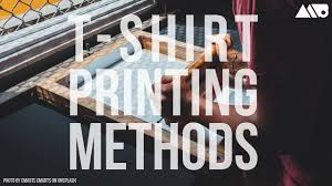 Different T-Shirt <b>Printing</b> Methods Explained - YouTube