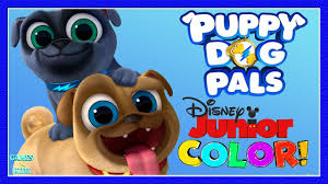 Puppy Dog Pals Coloring Pages Games For Children Disney Junior