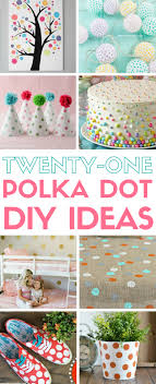 e up your party furniture and home decor with polka dots simple diy craft