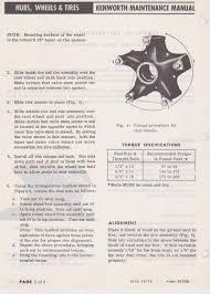 Dayton Wheel Torque Specs