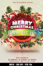 30 Free Christmas Party Flyers And New Year Party Flyer Psd
