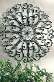 metal wall art for outdoors outdoor sun large size of decor clearance fish