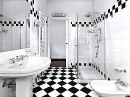 black and white tile black and white tile patterns for this bathroom create a rock star black and white tile
