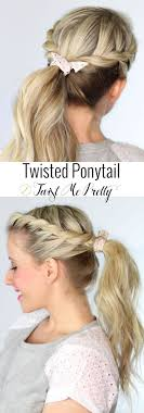 Quick Cute Ponytail Hairstyles Best 20 Cool Ponytails Ideas On Pinterest Perfect Ponytail