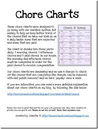 6 Year Old Chore Chart Ideas Our Chore System Chore Charts For Kids Printables