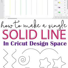 Cricut design space has changed some things since then so i wanted to make a new video on how to write with the cricut (plus the recording was horrible on how to draw a thick font with a cricut. How To Add A Solid Line In Cricut Design Space Thin And Thick Cricut Design Cricut Tutorials Cricut