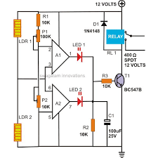 how to make a motion detector alarm circuit how to make a simple burglar alarm at Sample Schematic Diagram For Alarm