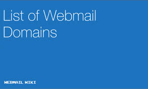 Best Free Email Providers Webmail Wiki