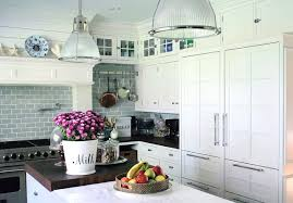 kitchens with white cabinets and backsplashes. Imposing Stylish Kitchen Backsplash White Cabinets Tile And Houzz Kitchens With Backsplashes W