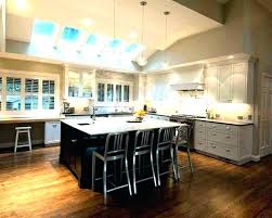 high ceiling lighting vaulted kitchen sloped solutions medium fixtures nyc light e32