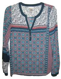 Love On A Hanger Clothing Love On A Hanger Multi Color Print Boho Tunic Size 24 XS Tradesy 4