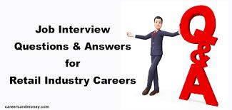 Retail Interview Questions Enchanting Job Interview Questions And Answers For Retail Industry Careers