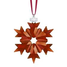 Annual Ornaments Swarovski 2018 Annual Edition Christmas Ornament Red Annual