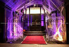 A Halloween Party entrance at Casino Club Chicago by HMR Designs