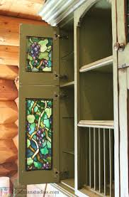 apartment amusing stained glass kitchen cabinet doors