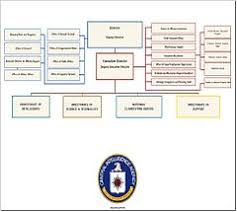 Cia Organizational Chart Organizational Structure Of The Central Intelligence Agency