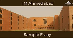 sample mba essay iim a admission crackverbal sample mba essay iim a