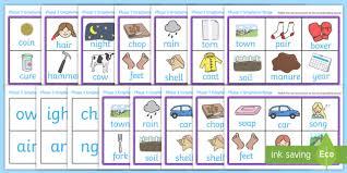Free, printable phonics worksheets to develop strong language skills. Free Phase 3 Grapheme Phonics Bingo Phonics Resources