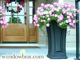pink outdoor plant pots artificial flowers for outside pots artificial flowers for outside pots hanging basket