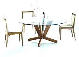 modern round wood dining table design kitchen ideas circle with leaf and 6 chairs ikea mo
