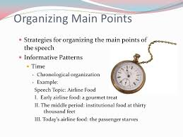 Speech Organizational Patterns Fascinating Organizational Patterns For Speeches