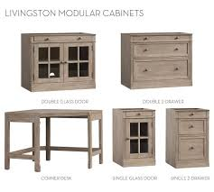 build your own office. Build Your Own Modular - Livingston Collection Office