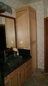 elegant black wooden bathroom cabinet. large size of bathroomfurniture bathroom unique black wooden floating cabinet with green glass elegant