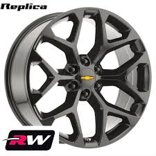 All Chevy chevy 1500 bolt pattern : 20 inch Chevy Silverado 1500 Snowflake OE Replica Wheels 20x9 ...