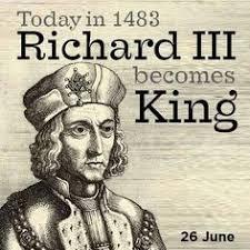 「1483 Richard III crowned」の画像検索結果