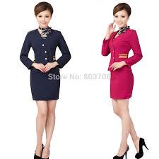 stewardess uniforms clothing beautician uniforms hotel front desk hotel manager uniforms in festive party supplies from home garden on aliexpress com