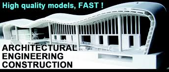 architectural engineering models. 3D Printed Architectural Engineering And Construction Models - Fast, High Resolution, Detail, Highly Complex Designs Possible Using Professional Grade