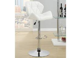 quality bar stools. Exellent Quality White Adjustable Bar Stools Set Of TwoCoaster Furniture And Quality