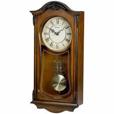 ridgedale chiming wall clock bulova
