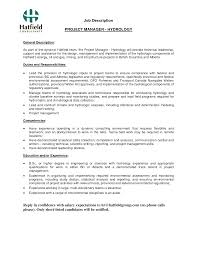 Infrastructure Project Manager Job Description It Infrastructure