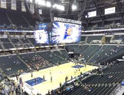 Pacers Game Seating Chart Bankers Life Fieldhouse Section 107 Seat Views Seatgeek