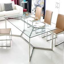 glass dining tables stainless steel and table sets toronto