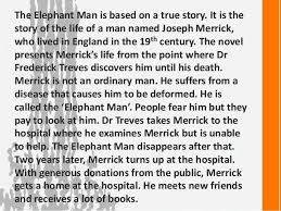 the elephant man chapter summaries setting characters 3